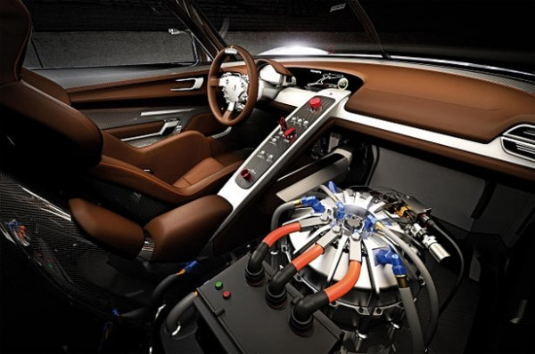 Porsche 918 Rsr Interior. The new Porsche 918 RSR