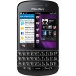 BlackBerry Q10 Black Front
